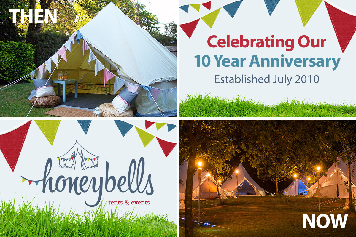 10 Years of Glamping Tent Hire