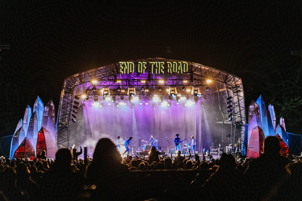 Camping at End of the Road Festival 2021 with Honeybells