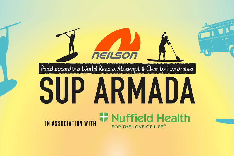 Neilson Stand Up Paddleboarding Armada 2017 Glamping