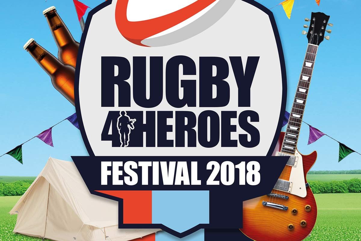 Rugby4Heroes Festival 2018 Glamping