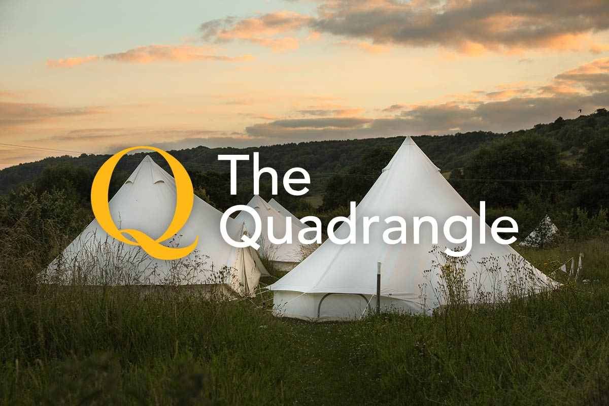 Family Camping at The Quadrangle