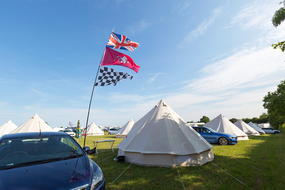 Luxury Camping at British F1 Grand Prix 2017 Silverstone