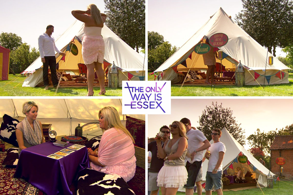 Bell Tent Hire for Television Shows