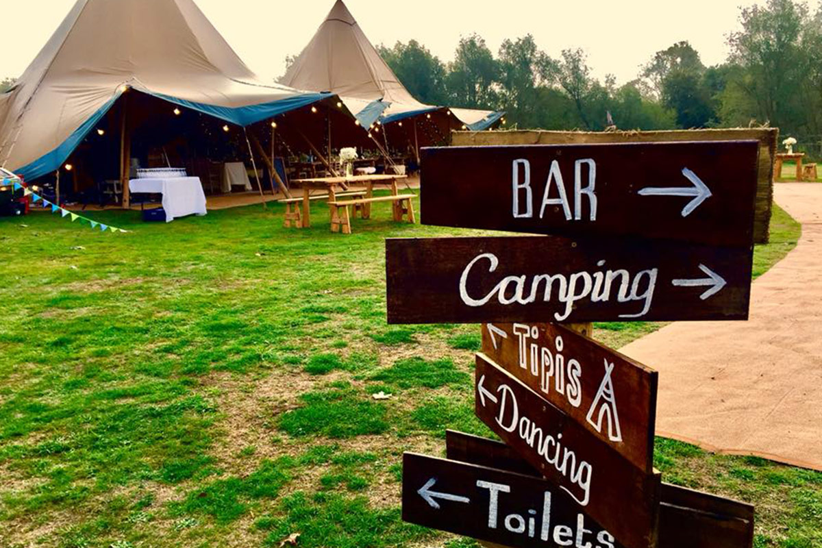 Herts FitFest 2019 Glamping with Honeybells