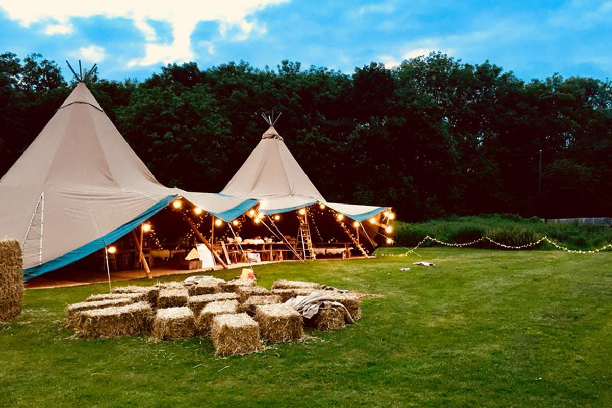 Luxury Camping at Herts FitFest 2019