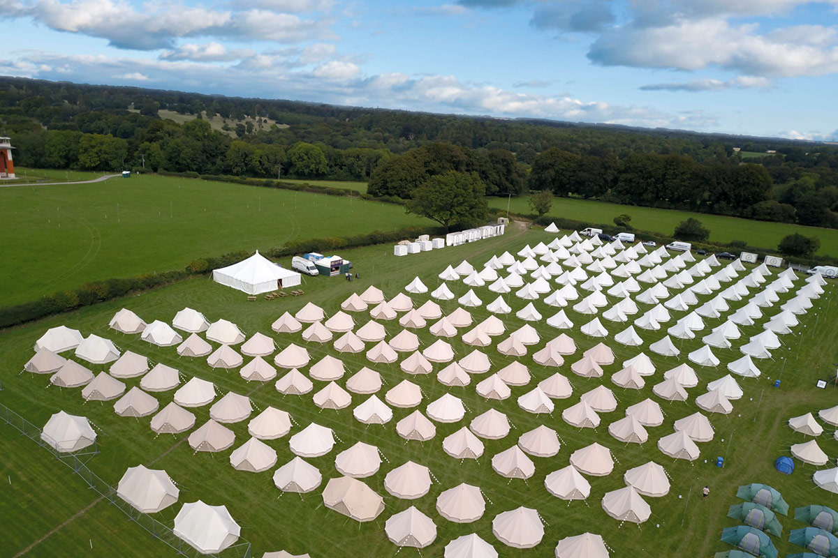 Glamping Event Accommodation