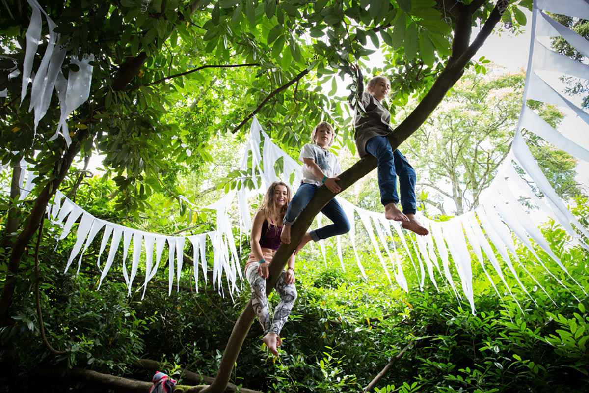 Luxury Camping at Larmer Tree Festival 2020
