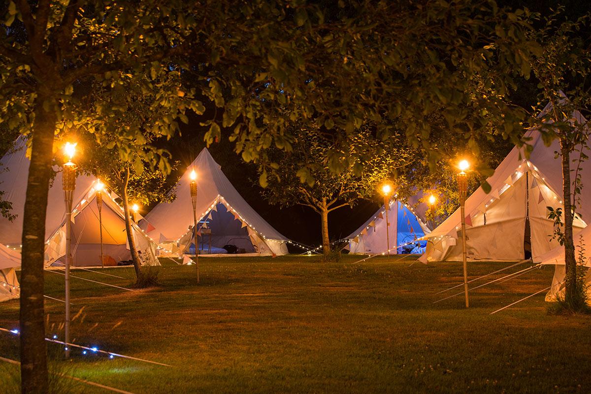 Larmer Tree Festival 2018 C&ing & Larmer Tree Festival 2018 Camping - Luxury Bell Tent Hire from ...
