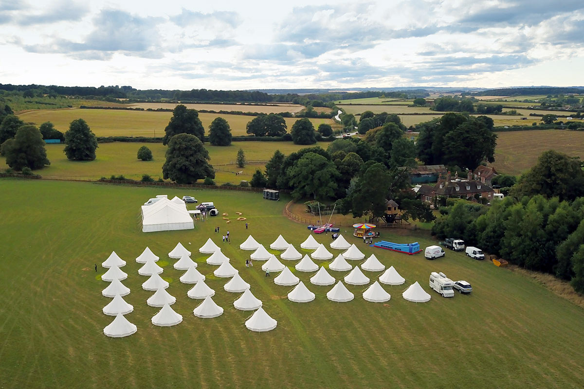 Long Term Glamping & Tent Hire with Honeybells
