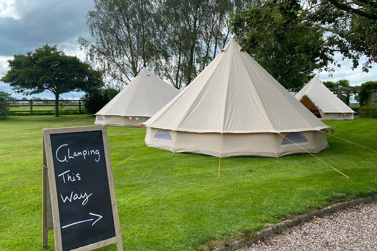 Long Term Tent Hire & Glamping from Honeybells
