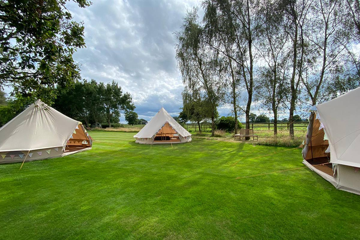 Long Term Tent Hire from Honeybells