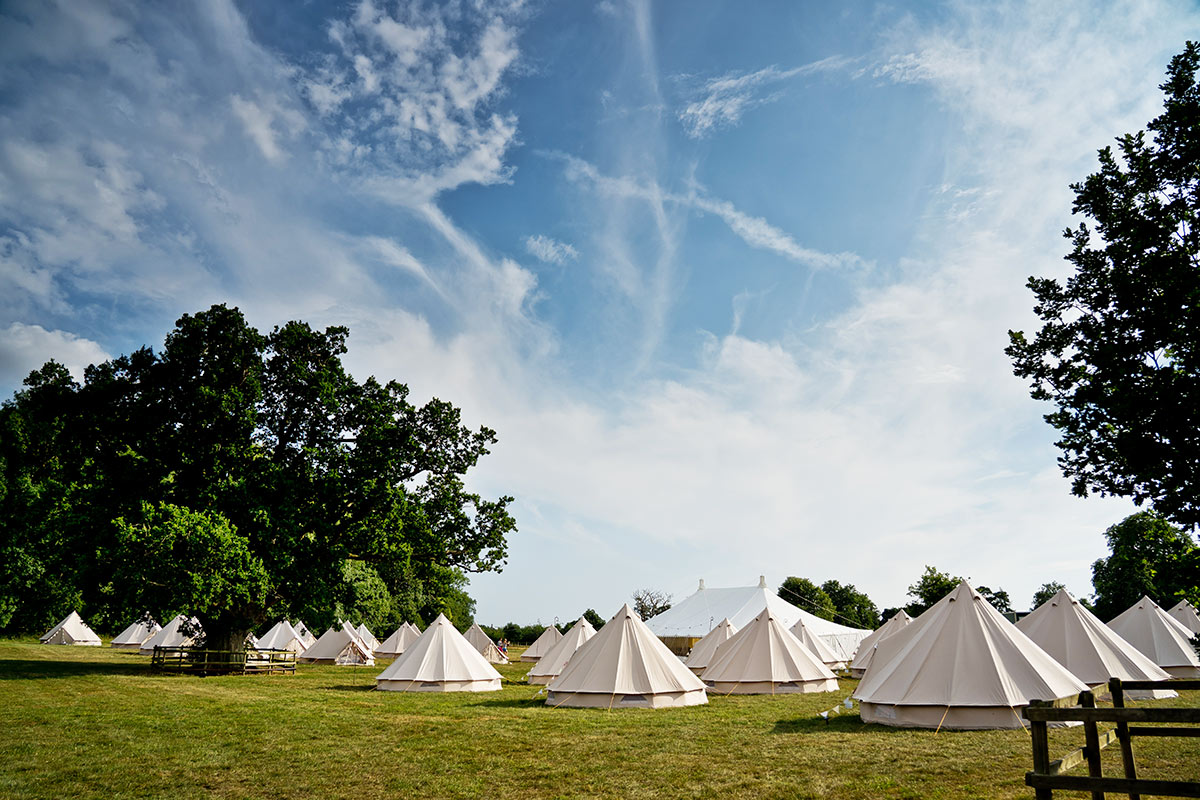 Long Term Glamping Hire from Honeybells