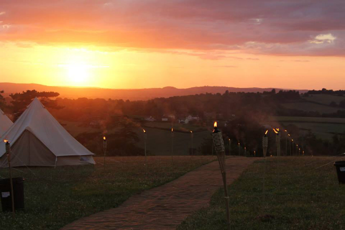 Long Term Bell Tent Hire from Honeybells