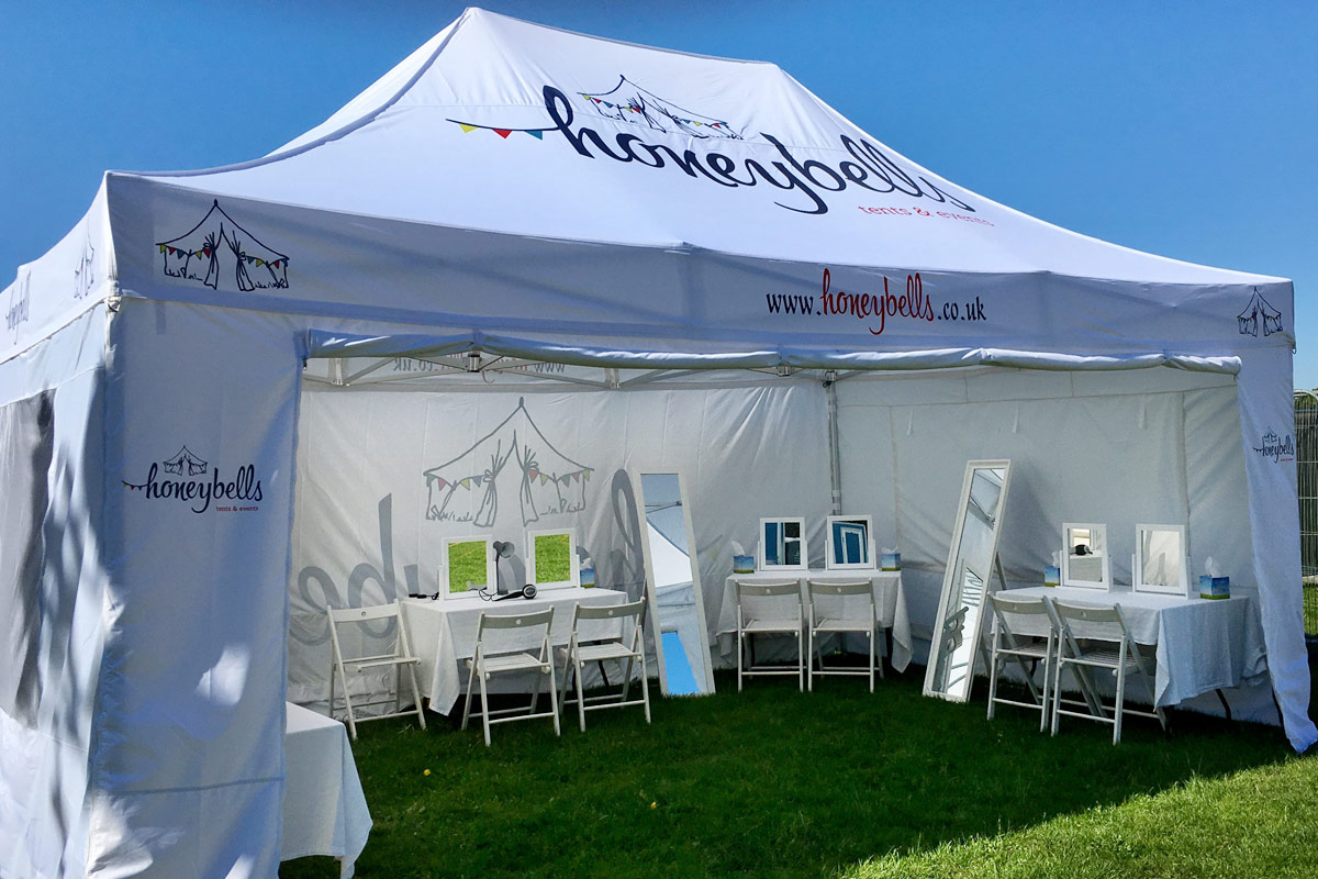 Honeybells Pamper & Power Tent