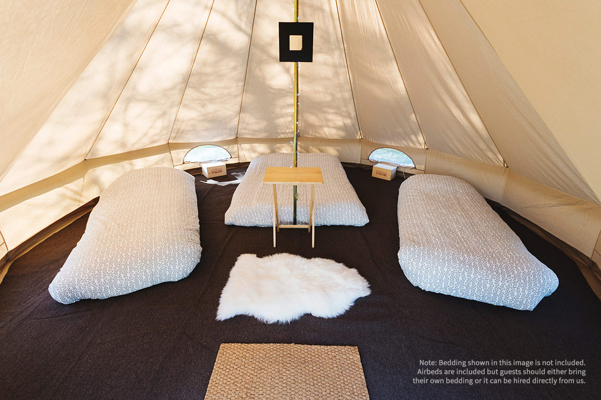Honeybells Quadrangle 4 Person Bell Tent