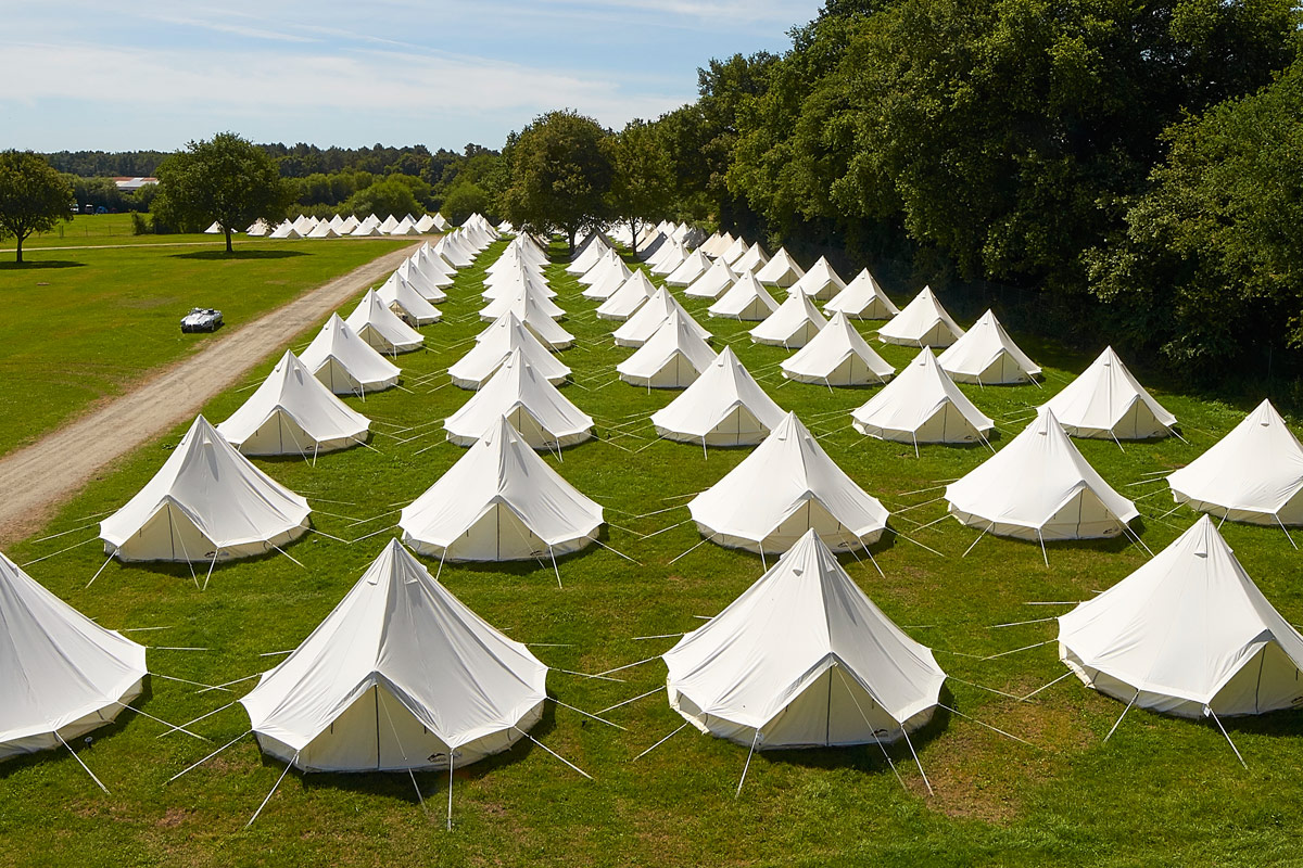 Tent Hire for Corporate & Private Events with Honeybells