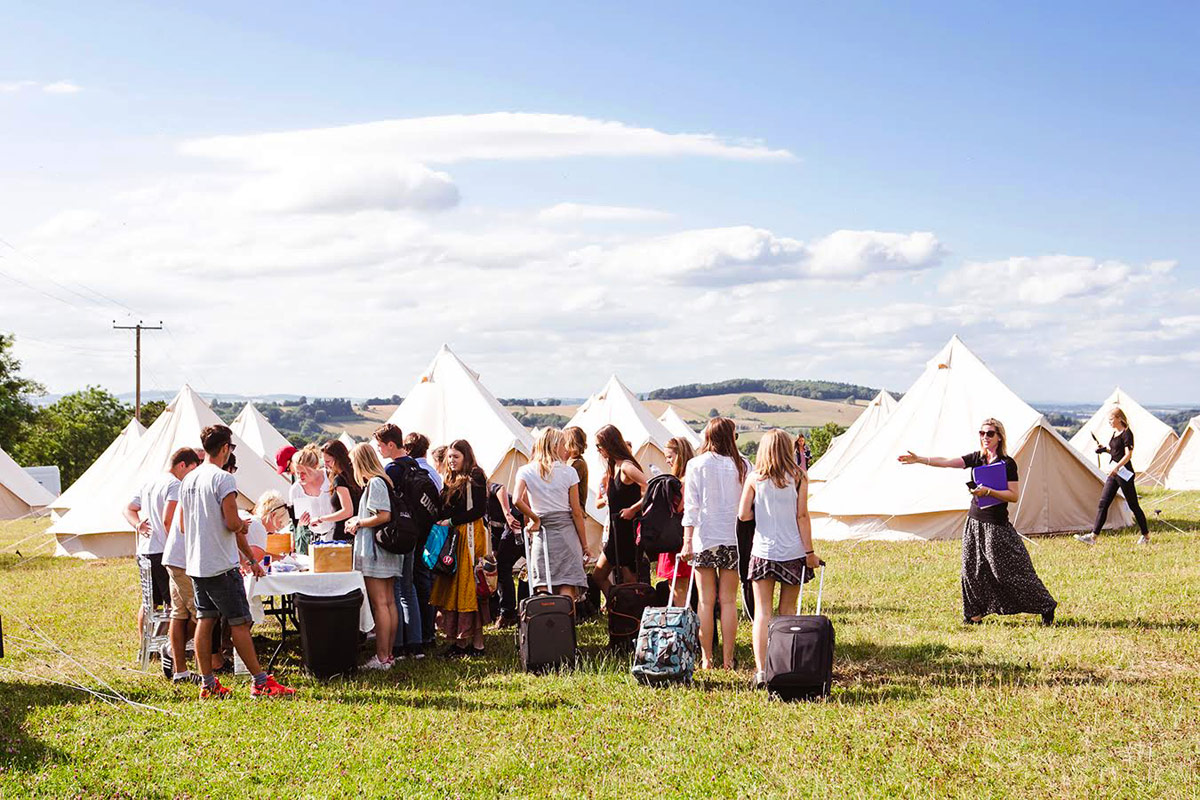 Corporate Event & Private Party Tent Hire from Honeybells