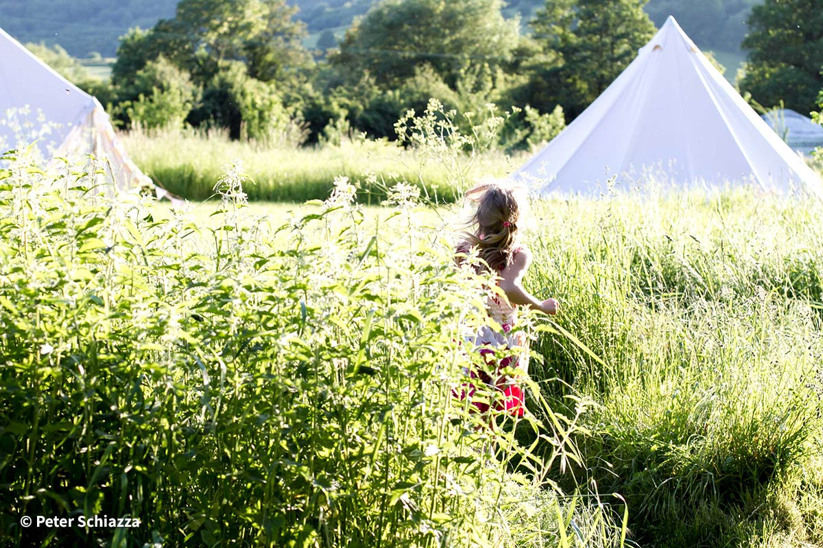 Glamping at The Quadrangle with Honeybells