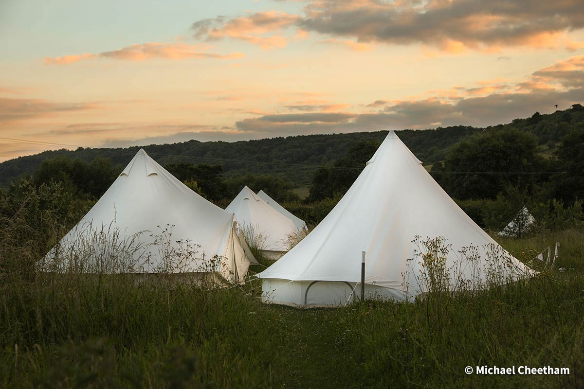 Luxury Camping at The Quadrangle