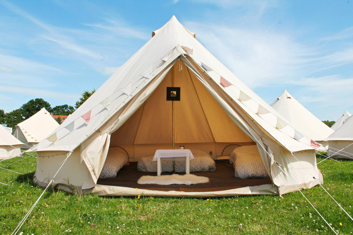 Bell Tent Hire Pitch Yourself