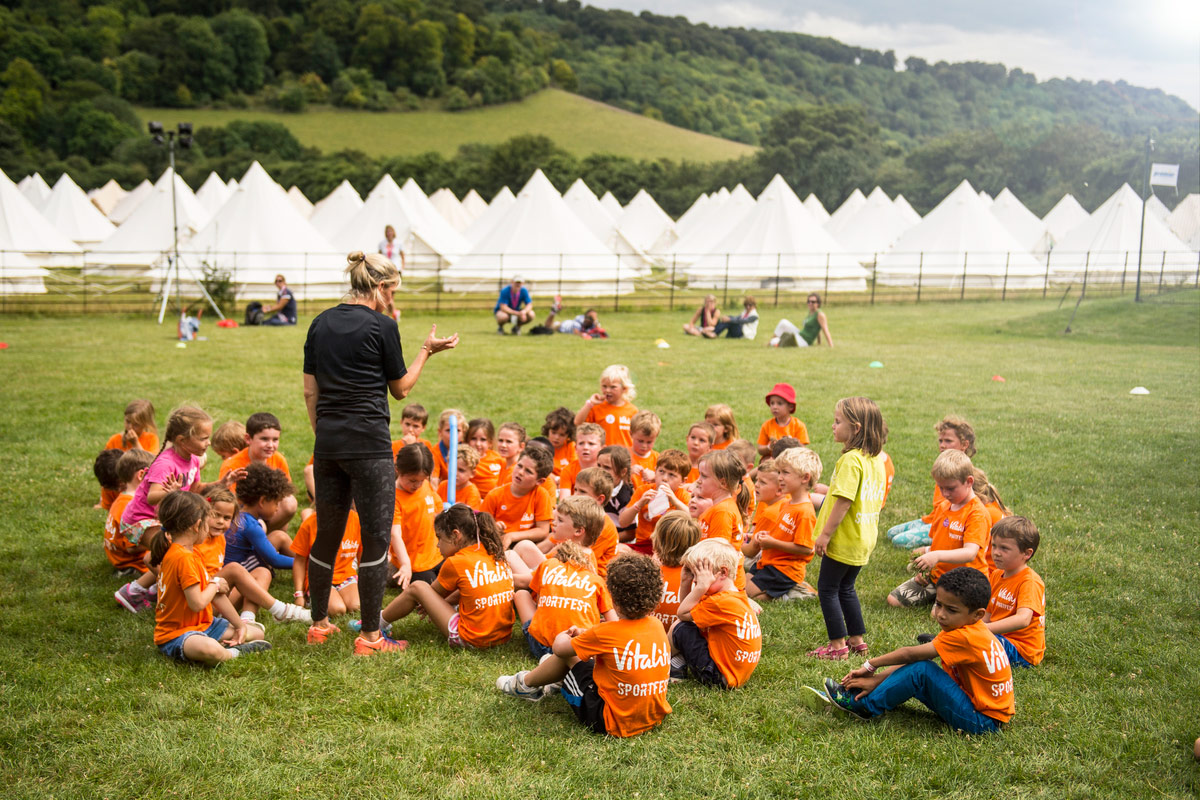 SportFest 2017 Camping with Honeybells