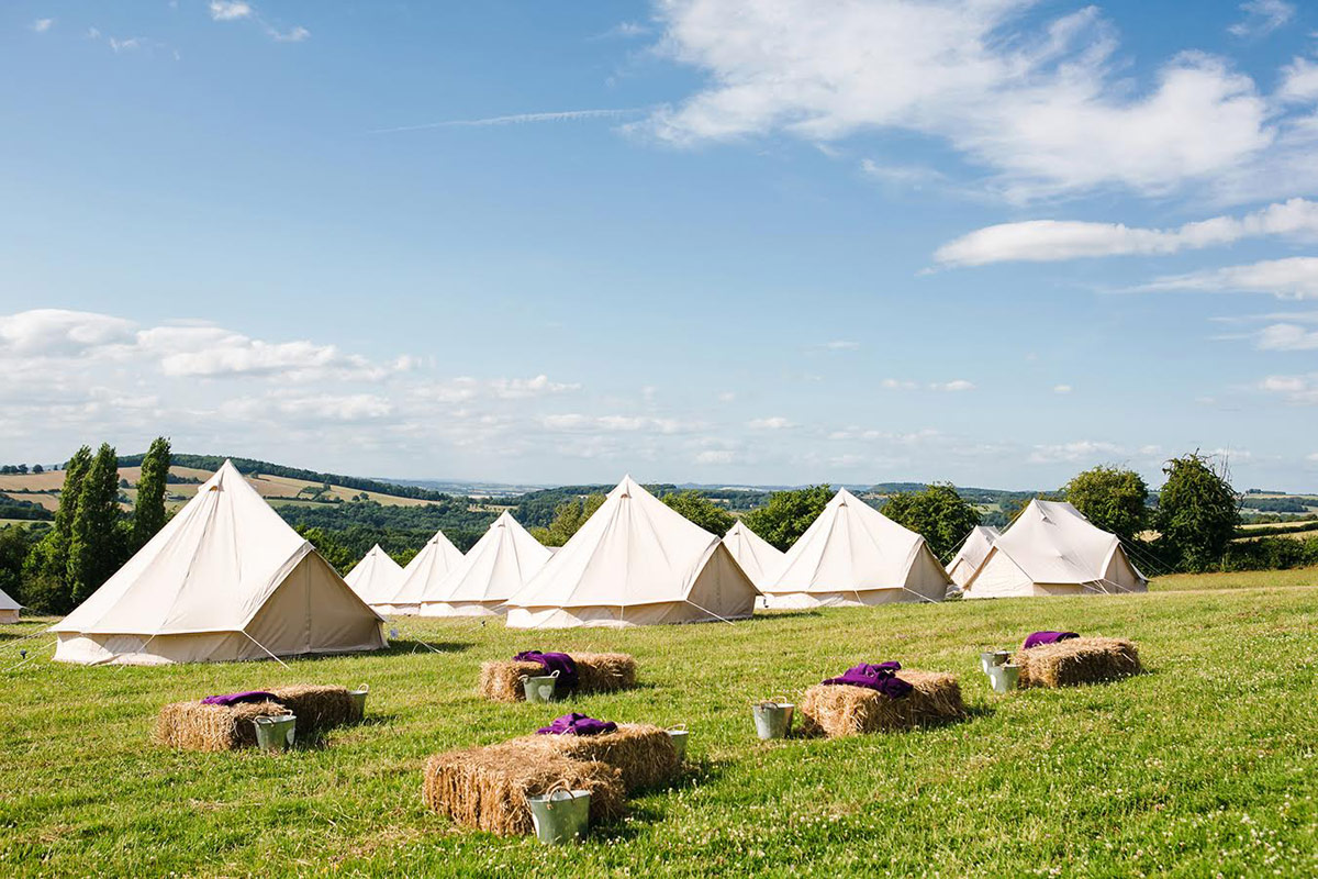 Glamping at Verve Festival 2019 with Honeybells