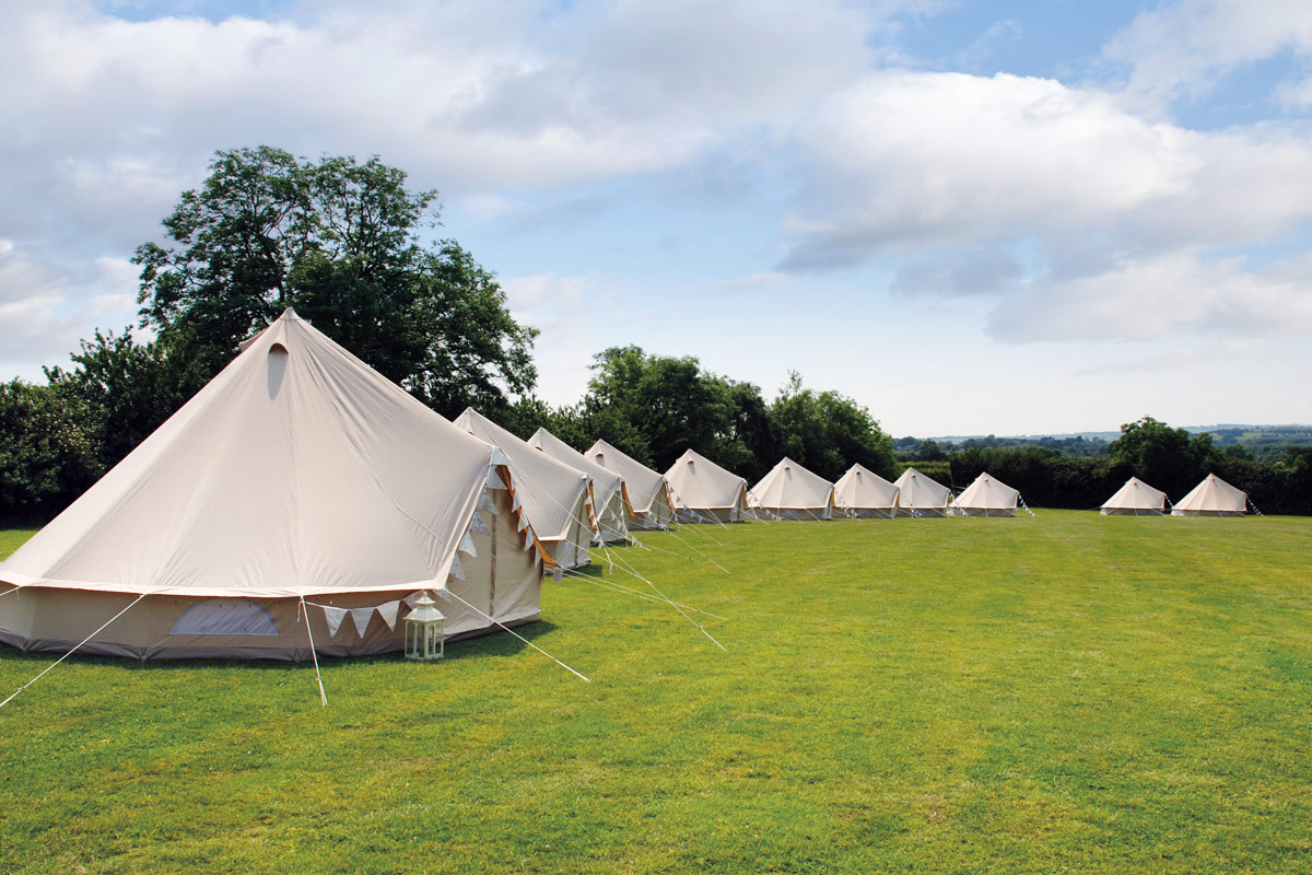 Honeybells Wedding Tents & Glamping Weddings